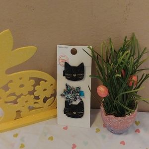 Assorted Hair Clips Cat